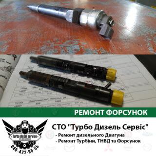 Ремонт форсунок common rail Киев Троещина цена